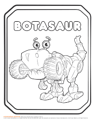 image rusty rivets botasaur coloring page png rusty rivets