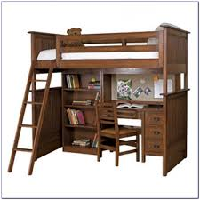 Bed Desk Combo Full Loft Bed With Desk And Stairs Bedroom Bunk Bed With Staircase