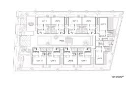 cluster home floor plans toh crescent hyla architects archdaily