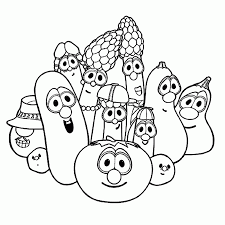 veggie tales coloring pages print tags veggie tales coloring