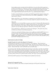 proposal bid sample bid proposal template 6 best proposal