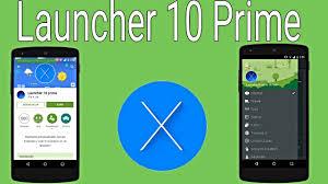 prime apk apk de launcher 10 prime actualizado 2015