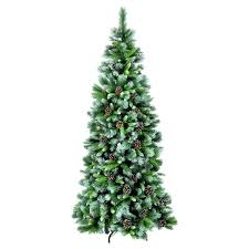 snowtime 7 5ft frosted glacier artificial tree reviews