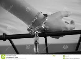 handcuffed to bed handcuffed to bed stock photos royalty free stock images