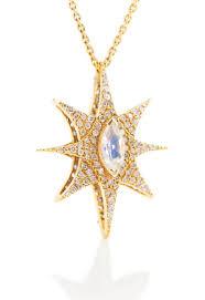 star necklace with diamonds images Lauren harper 1 60 carat diamond rainbow moonstone reversible jpg