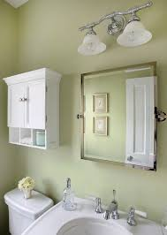 Bathroom Mirrors Chicago Chicago Light Green Paint Powder Room Traditional With Pedestal