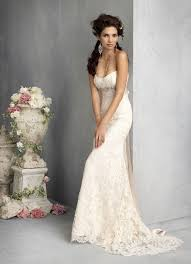 italian lace strapless wedding gown pictures photos and images