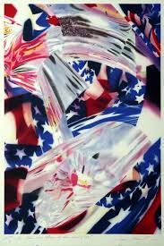 At The Speed Of Light James Rosenquist Stars And Stripes At The Speed Of Light For
