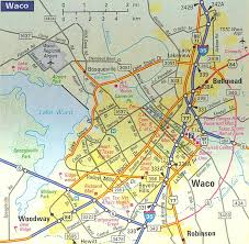 map waco map of waco