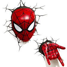 aliexpress com buy creative avengers alliance spiderman shape 3d
