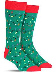 christmas lights socks fun holiday socks for men