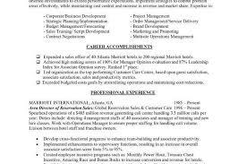 resume objective hospitality sales assistant job description