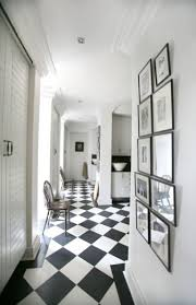 black and white marble floor design ideas