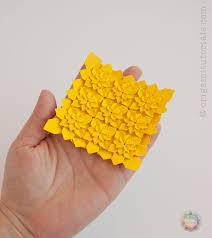 Origami Tessalation - origami miniature high density hydrangea tessellation origami