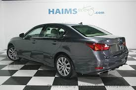 lexus gs 350 coupe 2013 used lexus gs 350 4dr sedan awd at haims motors serving fort