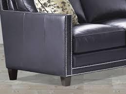 furnitures blue leather sofa elegant navy blue leather sofa nail