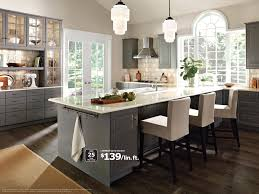 Design A Kitchen by Planning Designing A Kitchen Slab Doors Gray And Doors