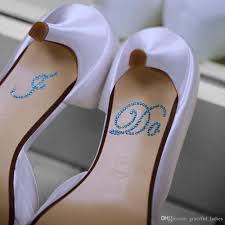 wedding shoes and accessories wholesale silver wedding shoe stickers diy bridal sandal