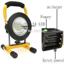 110v led work light 30w floodlights rechargeable 24 led flood light l red white blue