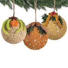 duncraft fruit nut ornaments set of 3