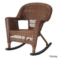 Rocking Patio Chair Wicker Rocker Patio Chairs Set Of 2 Free Shipping Today