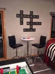 Wall Stickers And Tile Stickers by Decorating With Wall Vinyl Scrabble Tile Wall Sticker Designs