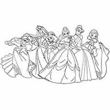 25 free printable princess coloring pages