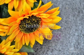 silk sunflowers high simulation flower 14 heads sunflowers artificial silk flowers
