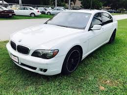 bmw 7 series 750li sedan in florida for sale used cars on
