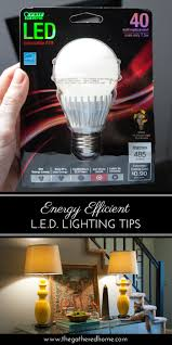 Switching To Led Light Bulbs by Energy Efficient Led Lighting Tips The Gathered Home