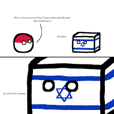 Israel Memes - how does israel not have post war trauma meme by sapu memedroid