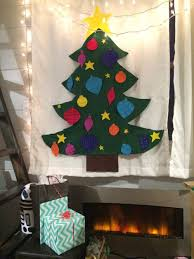 My Christmas Tree by Tiny House Christmas Tree Felt Tree Tutorial U2014 A Terracotta Life
