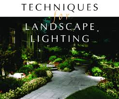 Landscape Lighting Techniques Techniques For Landscape Lighting Irrigation And Green Industry