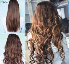 18 inch extensions 18 inch wave clip in hair extensions 4 medium brown with