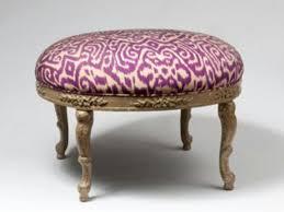 Ikat Ottoman Aubergine Ikat Ottoman Chairs Setees Chaises Pinterest