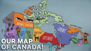 our map of canada zone on the road youtube
