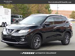 Nissan Rogue Grey - 2016 used nissan rogue awd 4dr sl at mercedes benz of tysons
