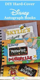 personalized autograph books diy disney autograph books cover disney
