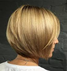 graduated layered blunt cut hairstyle 50 new short bob haircuts and hairstyles for women in 2018