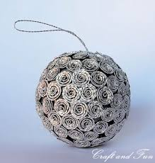 decoration made from recycled nespresso coffee