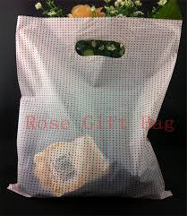 wholesale 100pcs 25x35cm large plastic shopping bags for boutique