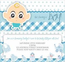 baby shower invitations for boy color baby shower invitations for boys