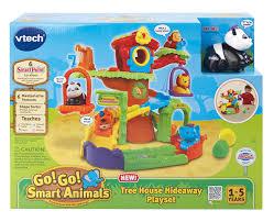 amazon com vtech go go smart animals tree house hideaway