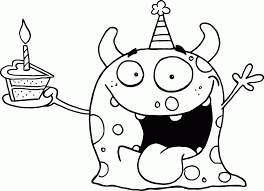 coloring page birthday color page happy balloons online coloring