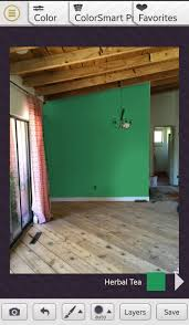 neutral tan color wall paint scheme for modern small living room