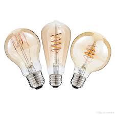 best dimmable 2200k ac110 220v st64 g25 a19 spiral lamp vintage