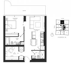 1 Bedroom Condo Floor Plans by 1 Bloor St East Unit 5910 Yorkville Toronto Condos For Sale New
