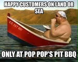 Boat Meme - funny memes pop pop s pit bbq