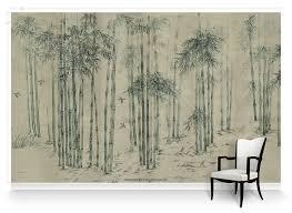 bamboo forest beige mural wallpaper chinoiseries bamboo forest beige mural wallpaper chinoiseries muralsources com