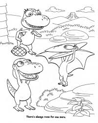 90 dinosaur train coloring pages ready colored